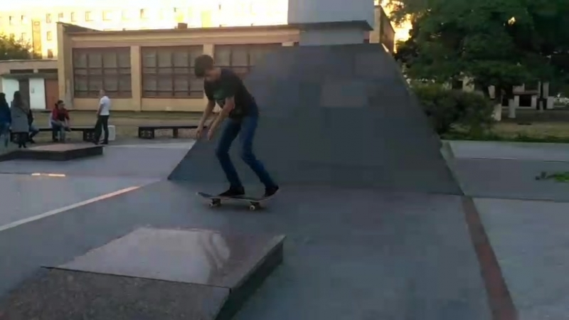 Fakie bigger spin
