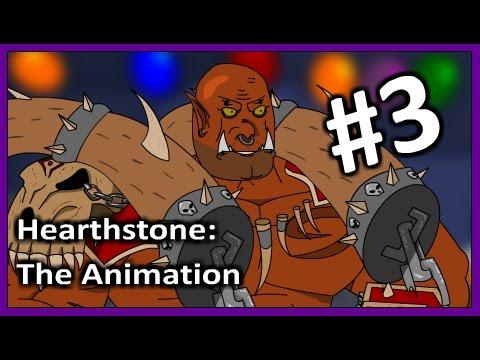 HearthStone Cartoon: Garrosh VS Morgl. Animation 3