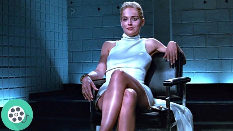 Допрос Кэтрин Трамелл Шэрон Стоун в полицейском участке Основной инстинкт 1992 год