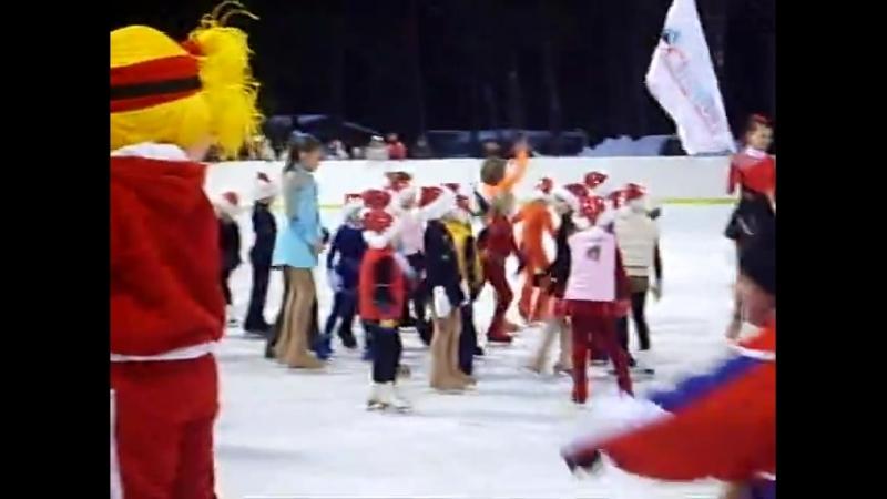 РООЯО СФФК 2006г. СлавНефть. Наше выступление на II Этапе Кубка Мира по лыжным гонкам в Демино.