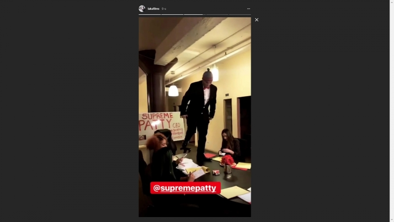 Storis lakafilms «SupremePatty съемки нового клипа» 1