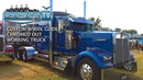 CATTLE HAULER W900L GLIDER ALL CHROMED OUT AND WORKING DAILY - BUILT BY THE BEST - HOT ROD RIGS TV