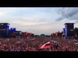 Гимн Российской Федерации перед началом матча Россия - Египет