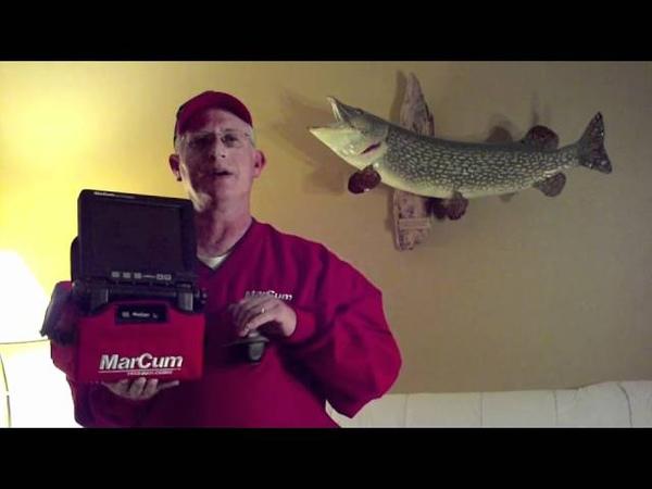Marcum How To Record Underwater Video