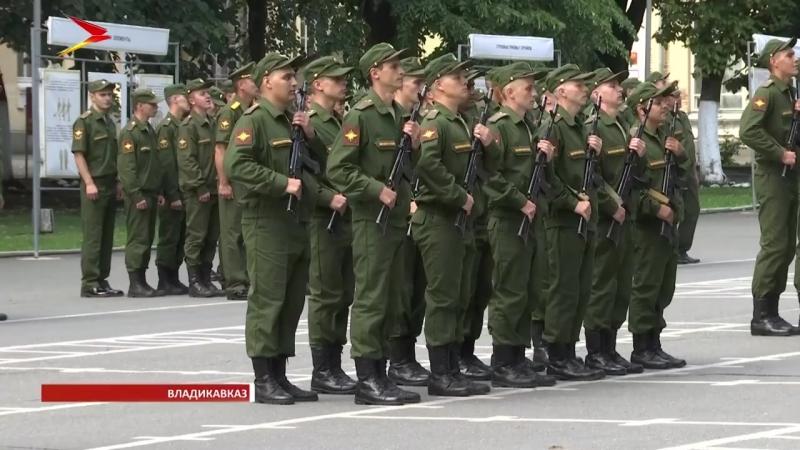 Молодые связисты 58-й общевойсковой армии ЮВО приняли военную присягу