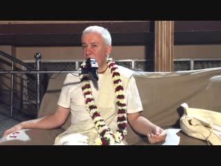 Какой стиль отношений между гуру и ученик.Чайтанья Чандра Чаран прабху.