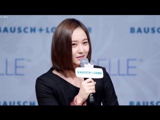171207 에프엑스 f(x) 미니인터뷰 [크리스탈] Krystal 직캠 Fancam (눈빛퀸선발대회) by Mera