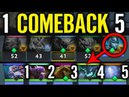 1 Comeback 5 Ramzess DIVINER PA vs ALL Carry Game by Ramzess God Rank Dota 2