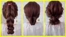 Красивые прически на каждый день😍 - прически на длинные и средние волосы 4