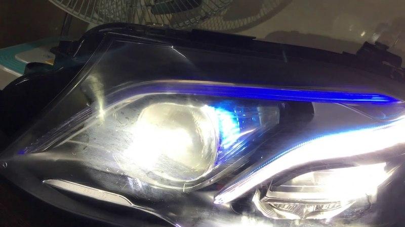 W213, w205.w212.w207.w218 Mercedes-Benz headlamp programming