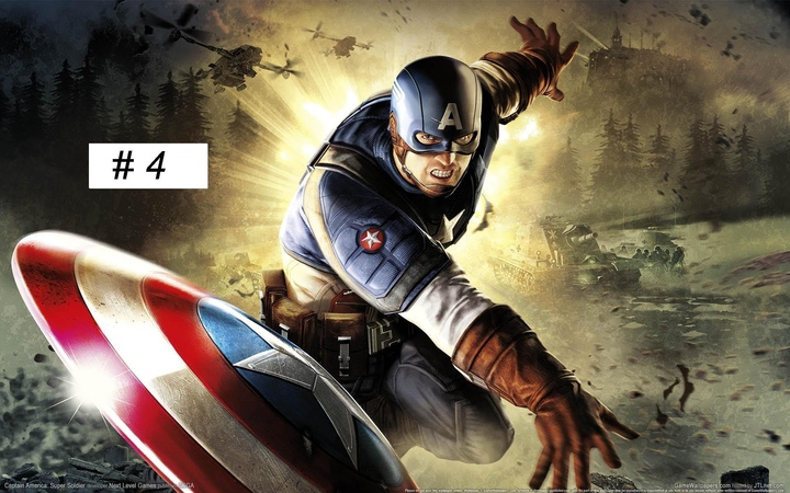 Captain America: Super Soldier gameplay Full Game walkthrough part 4 XBOX 360 PS 3