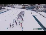 Лыжи Скиатлон В шаге от медали Денис Спицов. #Россия