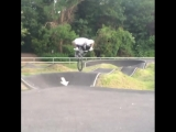 Mark Webb BMX frontflip