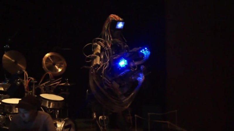 Z-Machines robot band at Maker Faire Tokyo