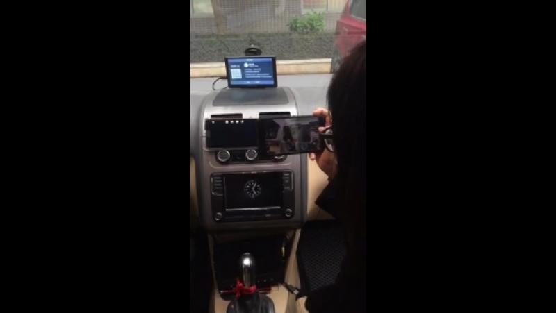 2.4G Digital WIRELSS VIDEO TRANSMITTER test on cars