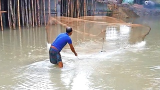 The Fisherman How to Cast a Cast Net for Fishing #TrueNature