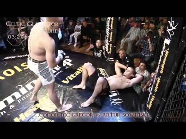 10 Conor McGregor vs Artur Sowinski CG 2 Clash of the Giants 2011 06 11