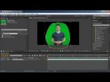 Афтер Синема Как сделать кеинг или хромакей (keying, chroma key) в программе Adobe After Effects