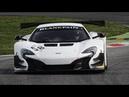 McLaren 650S GT3 Pure Sound On Track!!