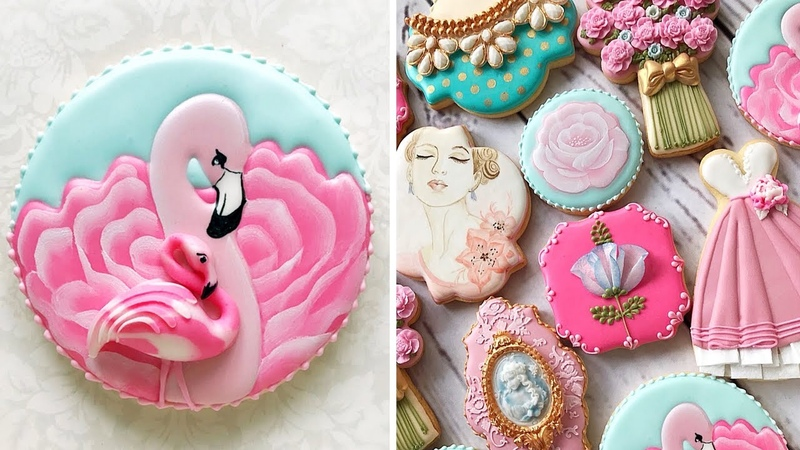 Elegant Cookies for Mother's Day 🌸