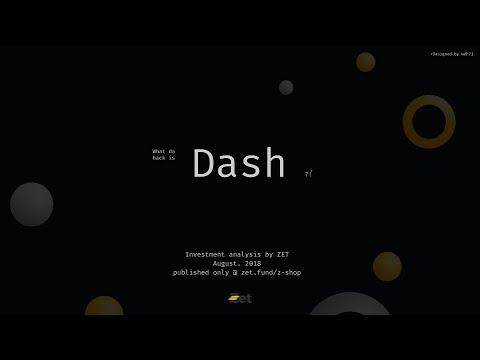 What da hack is DASH?! (Full fundamental analysis / Live stream / 09.08.2018 / 6 pm GMT3)