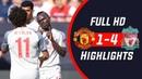 🔥 Манчестер Юнайтед - Ливерпуль 1-4 - Обзор Контрольного Матча 28/07/2018 HD 🔥