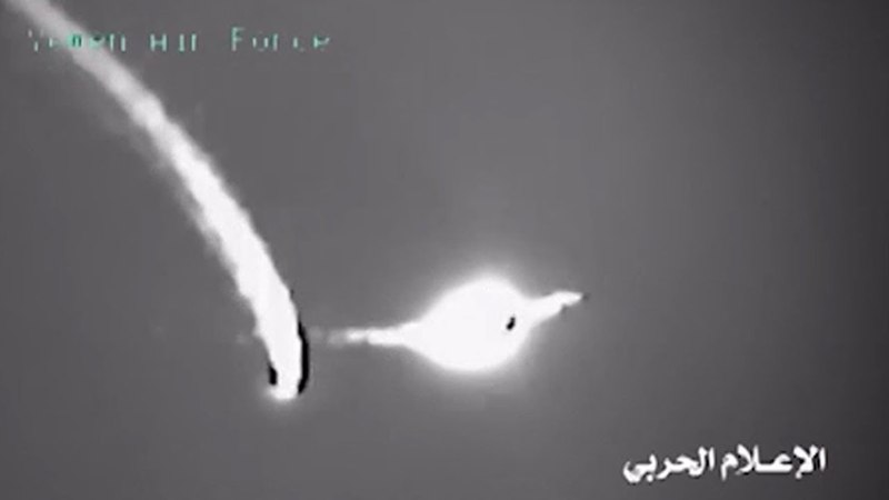 UAE's F-16 Dodge Yemen Air Defense Missile Attack Over Capital Of Sanaa