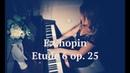 F. Chopin - Etude 6 op. 25 gis moll / Шопен - этюд 18