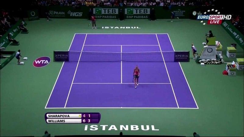 [HD]Serena William vs Maria Sharapova Final Highlights - WTA Championships Istanbul 2012