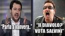Matteo Salvini VS Bono Vox: Ecco cosa si sono detti