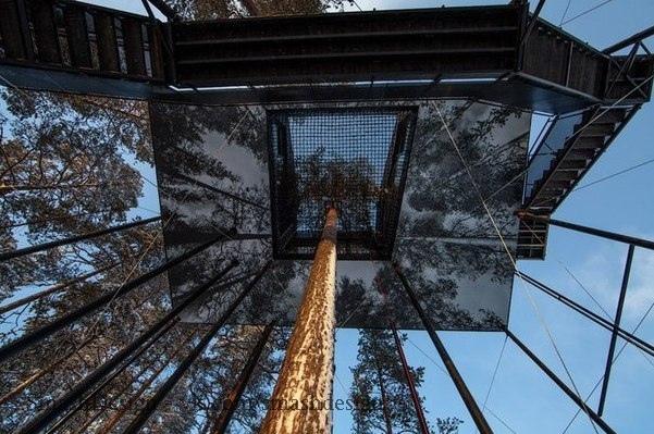 Избушка на дереве пo-норвeжски