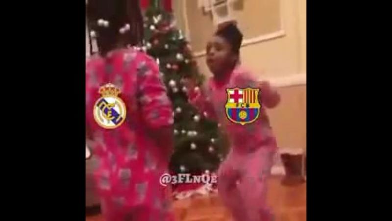 حال برشلونه من فازت على ريال مدريد. تحشيش😂.mp4