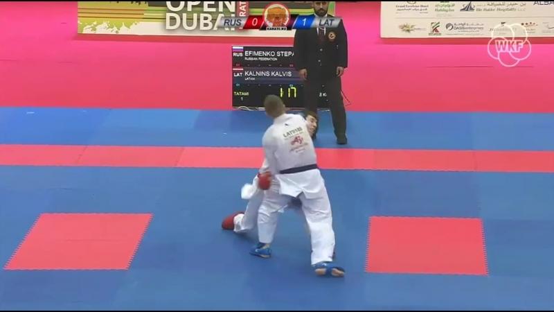 Степан Ефименко (Россия) - Калвис Калныньш (Латвия)