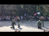 Опасные трюки военной разведки вдв в Смоленске
