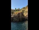 Cinque Terre . Я все таки прыгнула 🙈Там высоко.Этажа 4