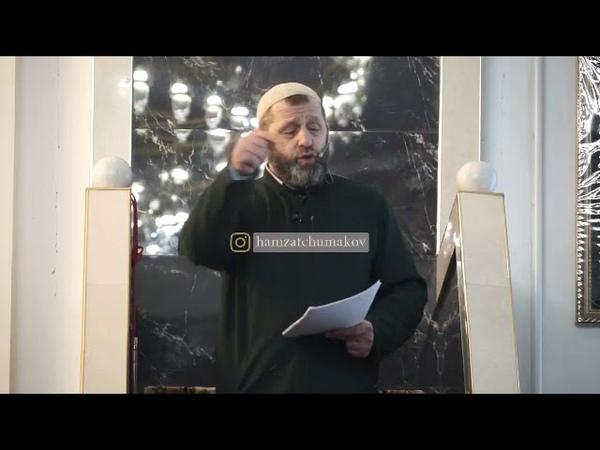 Шейх Хамзат Чумаков / про отношения к жёнам.