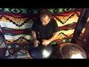 Miguel playing B major Rav Vast drum