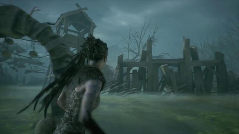 Прохождение Hellblade: Senua's Sacrifice - Испытание за обломок для меча. Болото 7