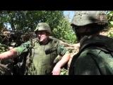 Бойцы НМ ДНР сдерживают ДРГ ВСУ из разрешенного вооружения.