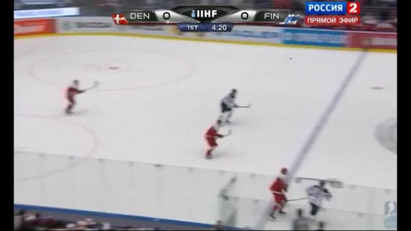 03.05.2015. Хоккей. Чемпионат мира. Дания - Финляндия