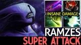 Ramzes [Faceless Void] Super Attack Speed 7.18 Dota 2