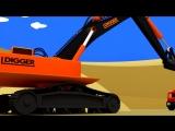 Развивающие мультфильмы. Сборник. Грузовик Тема, трактор Макс и техника. Мультики про машинки