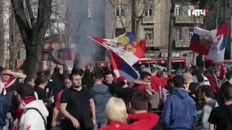 ФутбольныеХулиганы Сербия Вечное Дерби
