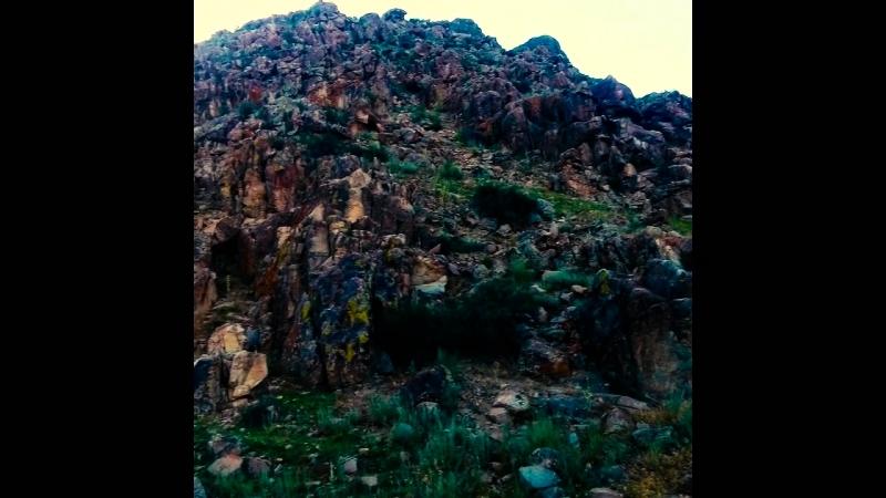 Горы ТДК и сам город