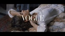 The Painting Vogue Italia Tory Burch feat Elisa Sednaoui Dellal