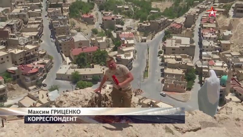 Возрождение Маалюли в Сирии почти восстановили древний православный монастырь