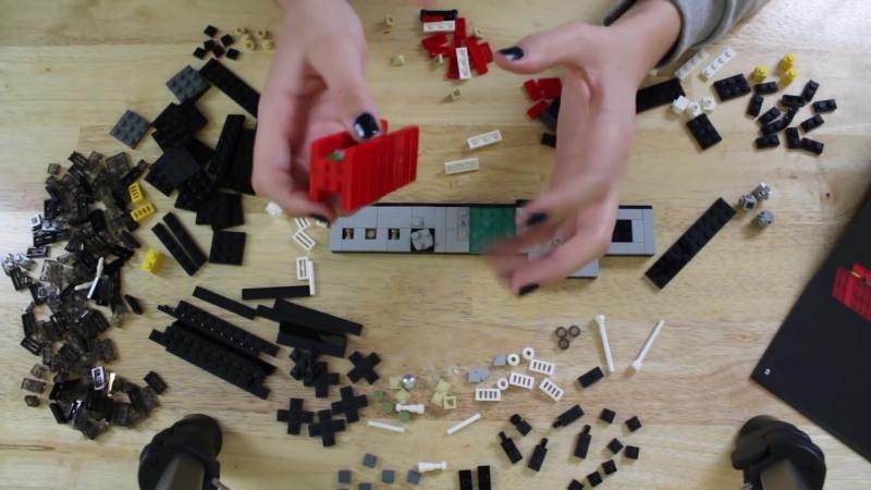 Gibi ASMR PocketASMR ASMR Long LEGO Build Whisper Chat