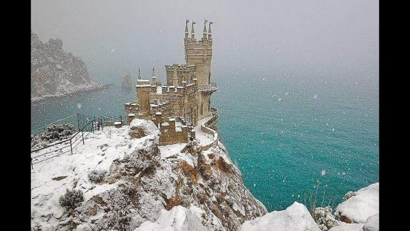 Крым. Зима 1974 года. Кинозарисовка
