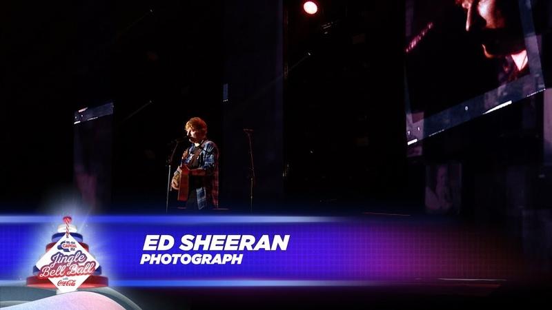 Ed Sheeran 'Photograph' Live At Capital's Jingle Bell Ball 2017