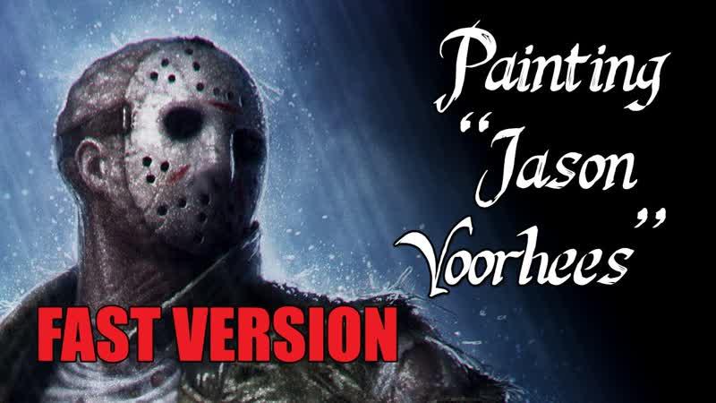 Speedpainting - Jason Voorhees (FAST VERSION)